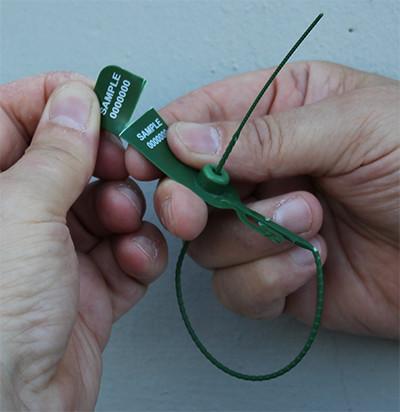FRISSOSEAL sigilli di plastica con coda rotonda