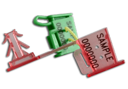 WIRE SECURITY SEALS ANCHORCLICK